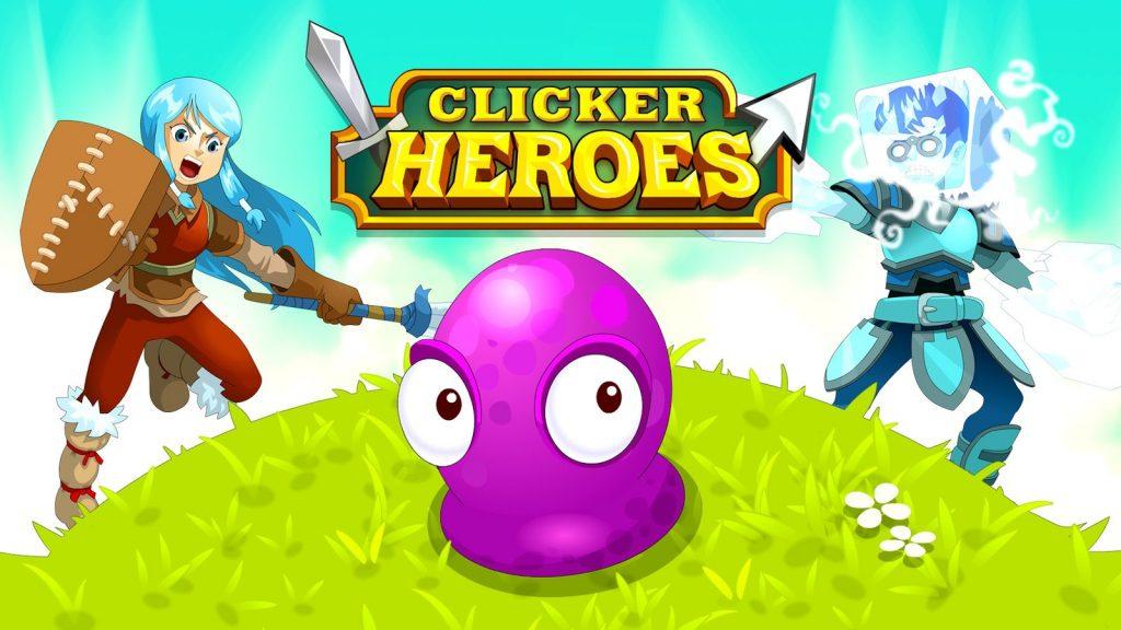 clicker heroes браузър игри